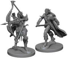 Pathfinder Battles Unpainted Minis - Elf Male Fighter