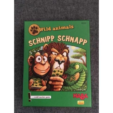 Wild Animals - Schnipp Schnapp Card Game