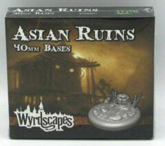 Asian ruins 40mm bases