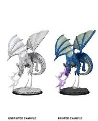 Nolzurs Marvelous Unpainted Miniatures - Young Blue Dragon
