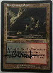 Bloodstained Mire - Signed