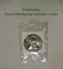 Krosmaster Count Harebourg Collector's Coin