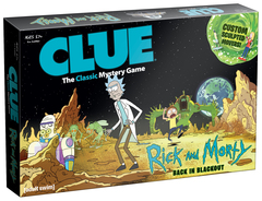 Clue: Rick And Morty