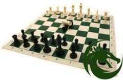 Pro Chess Tournament Men & Roll-Up Mat
