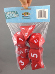 2 inch Squishable Dice Set, Red