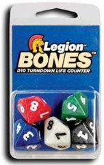 D10 Bones Life counters - 5 pack