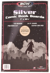 Silver Age Backer Boards (100 pk)