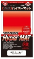 KMC Hyper Mat Red Sleeves (80)