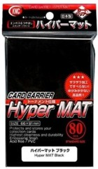 KMC Hyper Mat Black Sleeves (80)