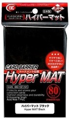KMC Hyper Mat Black Sleeves (80) x 30 Packs