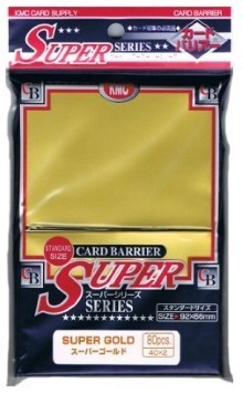 KMC Super Gold Sleeves (80) x 30 Packs