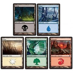 Basic Land Deal - 150 Black Border Lands (30 of each)