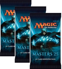 Masters 25 Booster Pack x 3