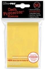 Ultra Pro Standard Sleeves - Yellow (50 ct.)