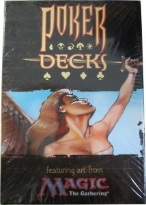 Wizards of the Coast Poker Deck Cards 1998 (2 decks)