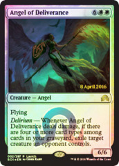 Angel of Deliverance - Foil - Prerelease Promo