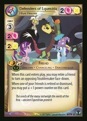 3x Defenders of Equestria Hive Heroes 79 U x3