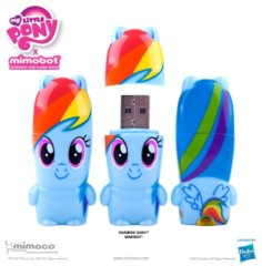 Mimobot Rainbow Dash 8GB Flash Drive