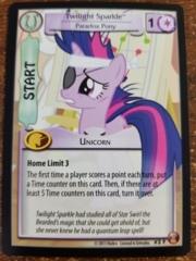 Twilight Sparkle Paradox Pony FOIL #2F