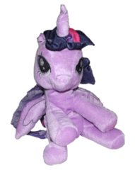 Twilight Sparkle Plush Backpack