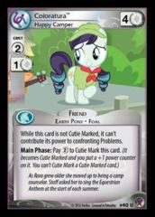 Coloratura, Happy Camper 40