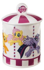 Ceramic Carousel Cookie Jar