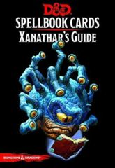 Dungeons And Drangons : Spellbook Cards: Xanathars Guide