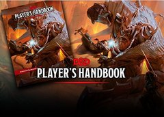 D & D Player's Handbook - Dungeons & Dragons 5th ed.