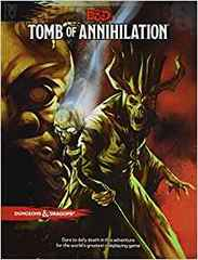 D & D Tomb of Annihilation Dungeons and Dragons