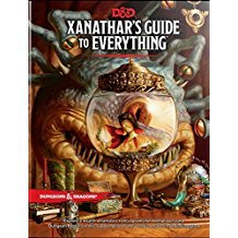 D & D Xanathar's Guide to Everything Dungeons and Dragons