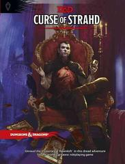 D & D Curse of Strahd 5th Ed. Dungeons and Dragons