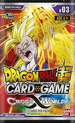 Dragon Ball Super Cross Worlds Booster Pack