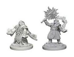 Nolzur's Marvelous Unpainted Miniatures: Dwarf Female Cleric