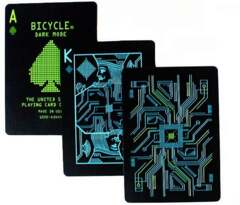 Bicycle Playing Cards - Dark Mode