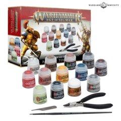 Warhammer AoS Paints + Tools Set