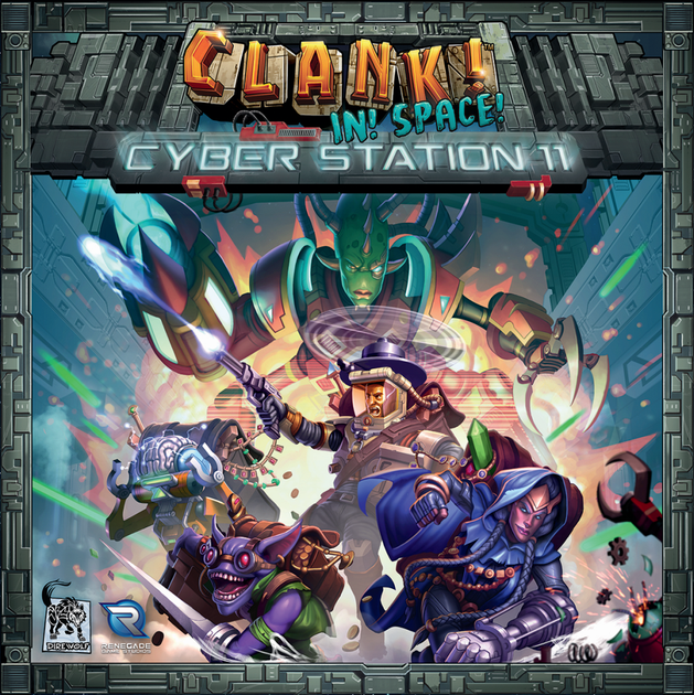 Clank! In Space! Cyber Station 11