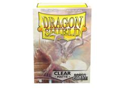Dragon Shield Box of 100 in Matte Clear Non-Glare