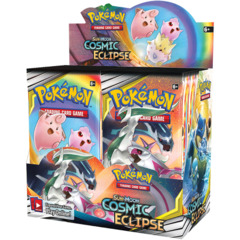 Pokemon- Cosmic Eclipse Booster
