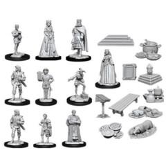 WizKids Deep Cuts Unpainted Miniatures: Castle: Royal Court