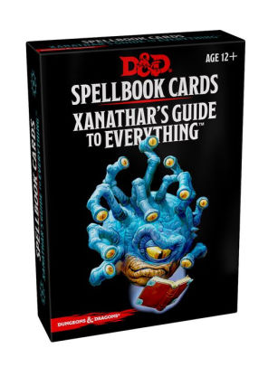 Arcane Spellbook Cards - Xanathars