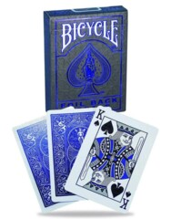 Bicycle Playing Cards - Foil Back Cobalt