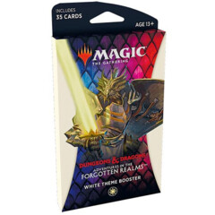 Adventures in the Forgotten Realms Theme Boosters Pack - White