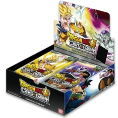 Dragon Ball Super Clash of Fate Themed Booster Box