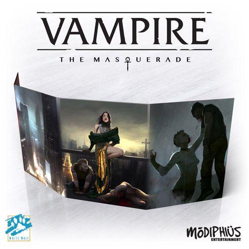 VAMPIRE THE MASQUERADE 5E - STORYTELLER SCREEN - Table Top