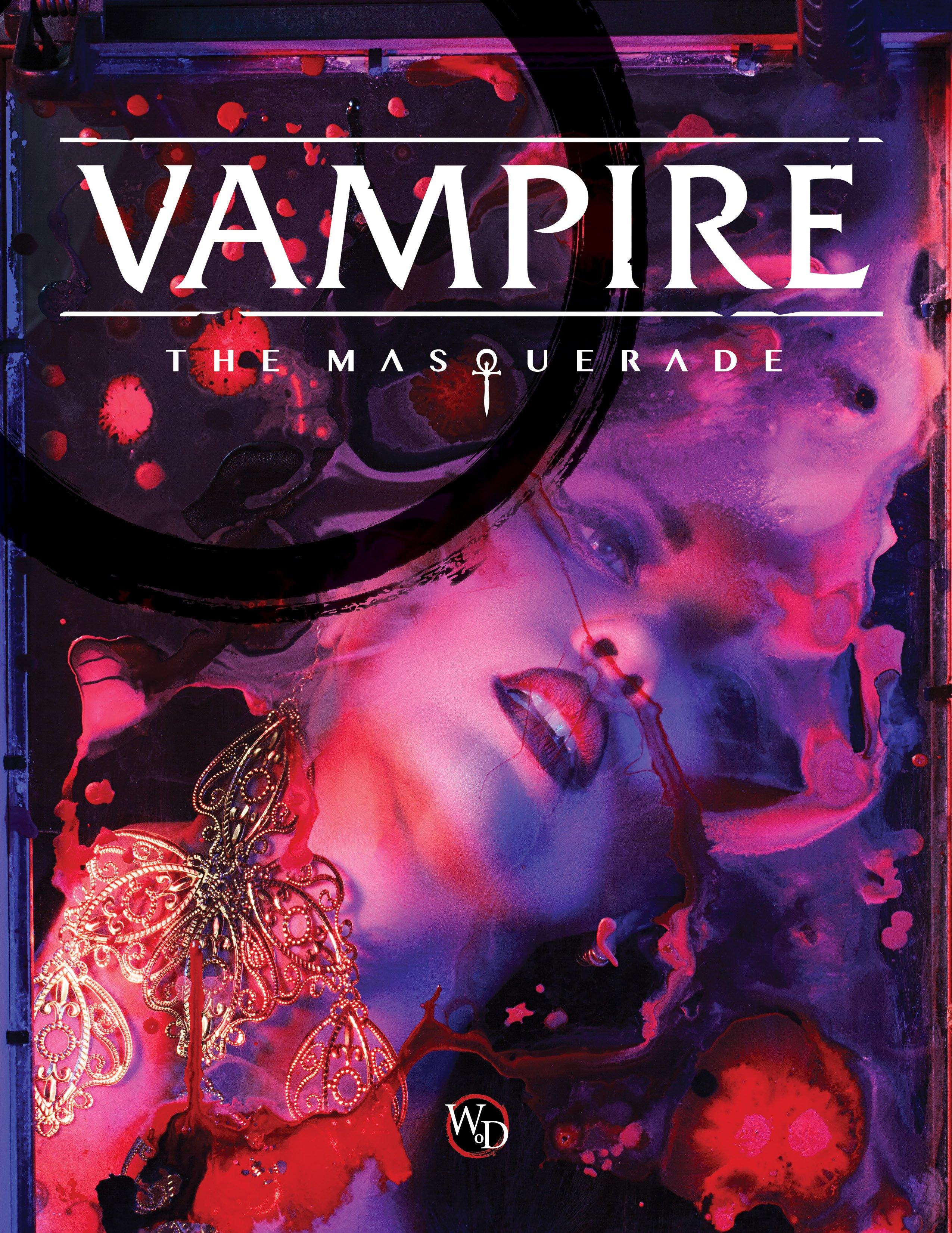 VAMPIRE THE MASQUERADE 5E - Table Top Games » Vampire The