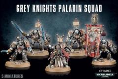 Grey Knights - Paladin / Terminator Squad