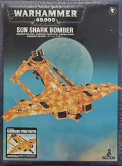 T'au Empire - AX39 Sun Shark Bomber / AX3 Razorshark Strike Fighter