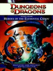Player's Options: Heroes of the Elemental Chaos (D&D 4th ed. 2012)