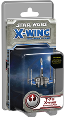 Star Wars X-Wing (1st Edition) Resistance - T-70 X-Wing