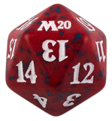 Magic Spindown Die - Core Set 2020 - Red
